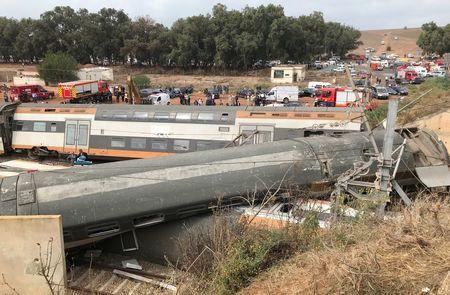 Εκτροχιασμός τρένου στο Μαρόκο: Τουλάχιστον έξι νεκροί, 86