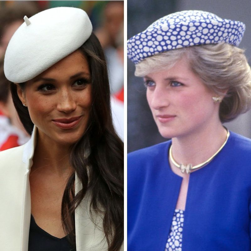 Pincess Diana + Meghan Markle