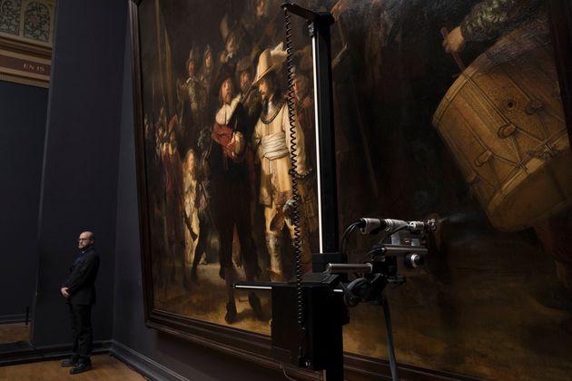 Εργασίες συντήρησης σε διάσημο έργο του Ρέμπραντ «ζωντανά» μέσω