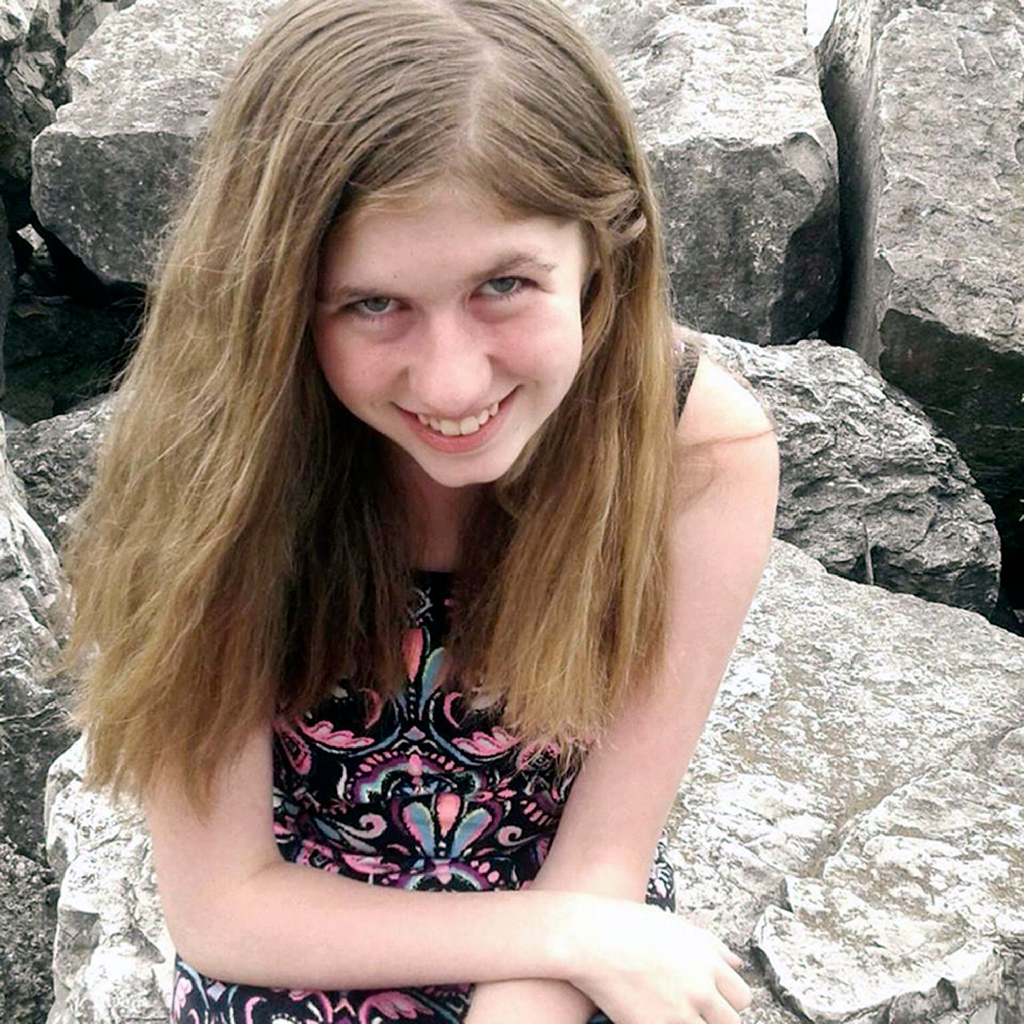 This undated photo provided by Barron County, Wis., Sheriff's Department, shows Jayme Closs. Authorities say that Closs, a missing teenage girl, could be in danger after two adults were found dead at a home in Barron, Wis., on Monday, Oct. 15, 2018. (Courtesy of Barron County Sheriff's Department via AP)