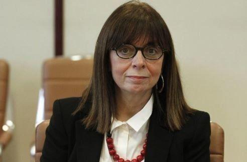 Η Κατερίνα Σακελλαροπούλου είναι η πρώτη γυναίκα πρόεδρος του