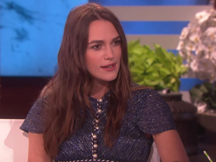 Why Keira Knightley Won't Let Her Daughter Watch