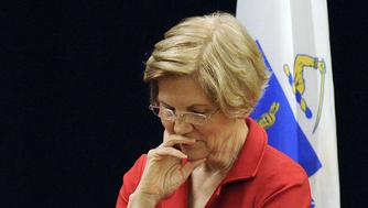 US Senator Elizabeth Warren (D-MA) listens during a town hall meeting in Roxbury, Massachusetts, October 13, 2018. (Photo by Joseph PREZIOSO / AFP)        (Photo credit should read JOSEPH PREZIOSO/AFP/Getty Images)