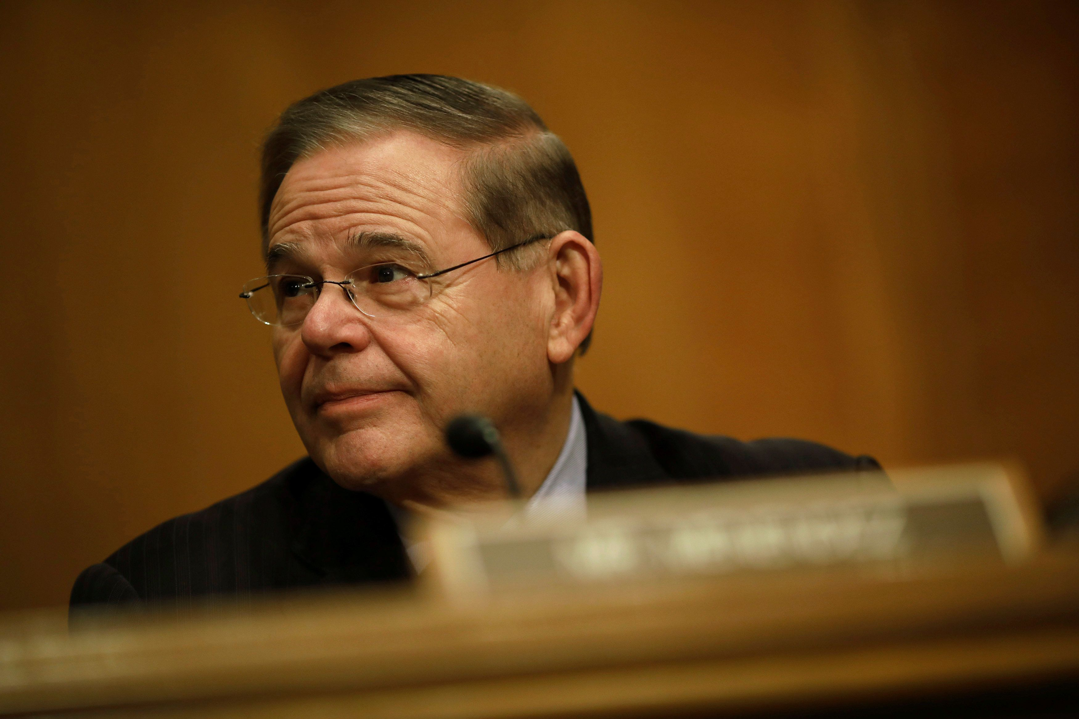 Democratic Sen. Bob Menendez's recent corruption trial has dogged his bid for re-election in bright blue New Jersey.