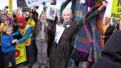 Vivienne Westwood Dances In Protest Against Fracking In The