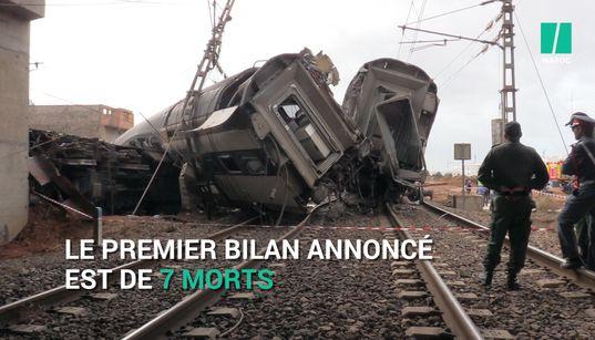 Bouknadel: Des témoins racontent l'accident ferroviaire