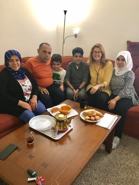 One of the author's current pediatric hospice families. They are originally from Syria.