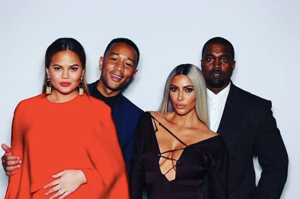Chrissy Teigen Talks Keeping Things 'Civil' With Kanye West After Trump