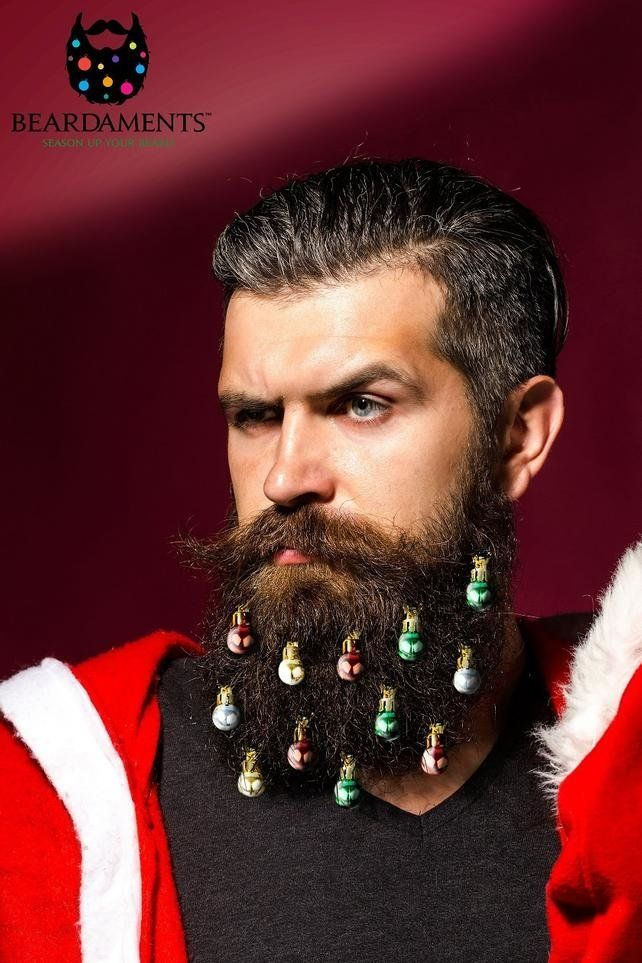 """What good is having a bushy beard if you can't dress it up during the holidays. The <a href=""""https://beardaments.com/"""" target"""