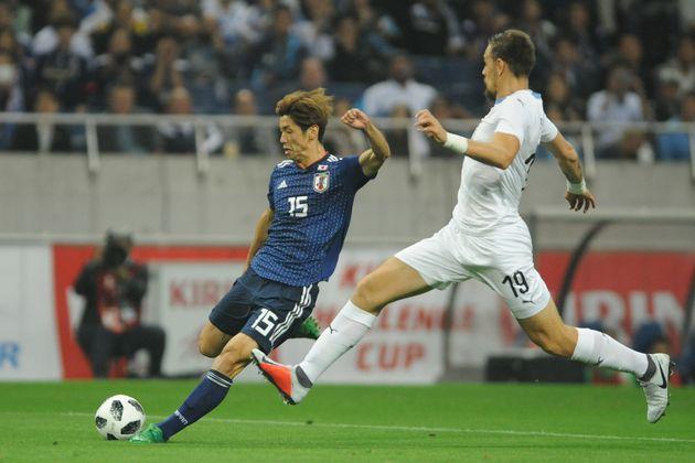 한국에 이어 일본 축구 대표팀도 우루과이를