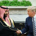 Trumps Kniefall: Wie der US-Präsident sich im Fall Khashoggi