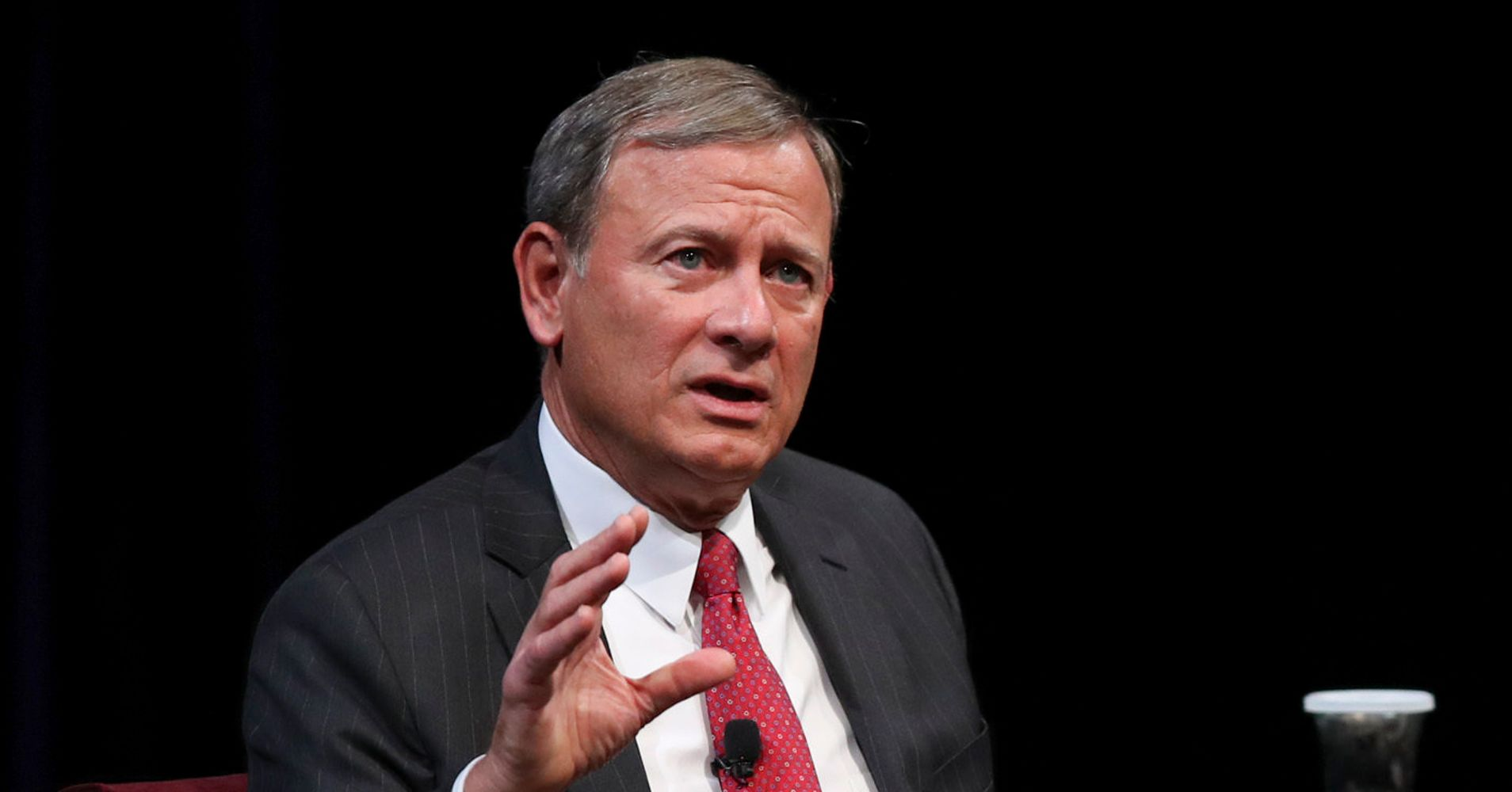 Chief Justice John Roberts Stresses Court's Independence After Kavanaugh Confirm...