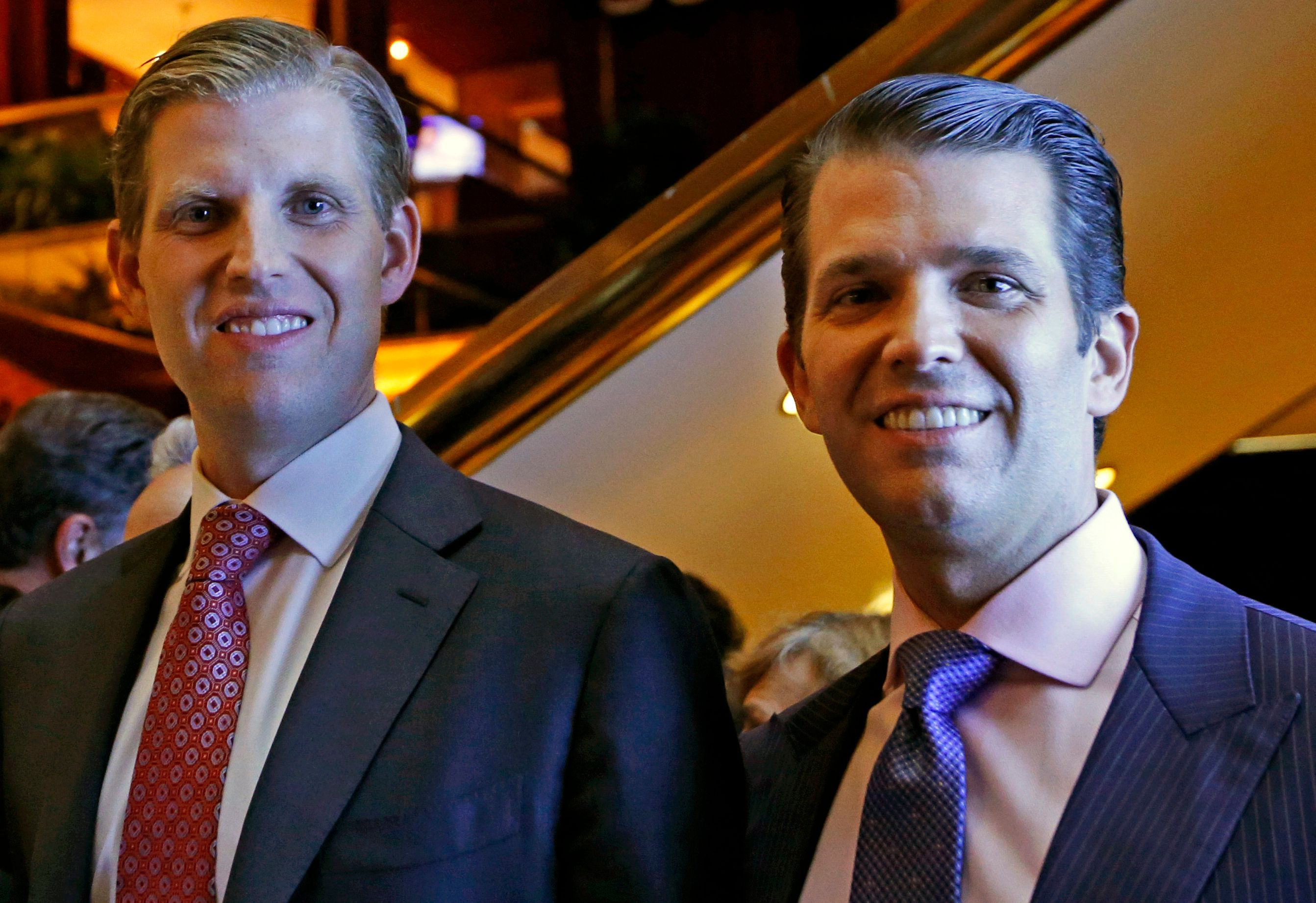 Trump Organization's Attempt To Celebrate 'Bosses' Eric And Don Jr. Backfires