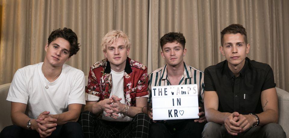 [허프인터뷰] 영국 밴드 '더 뱀프스'는 언젠가 방탄소년단, 빅뱅과 콜라보 곡을 내고