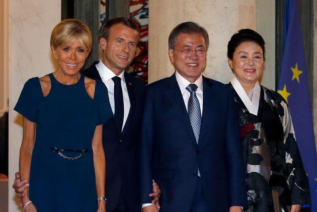 '프랑스 수능에 한국어 채택' 마크롱 말에 한국 인터넷이