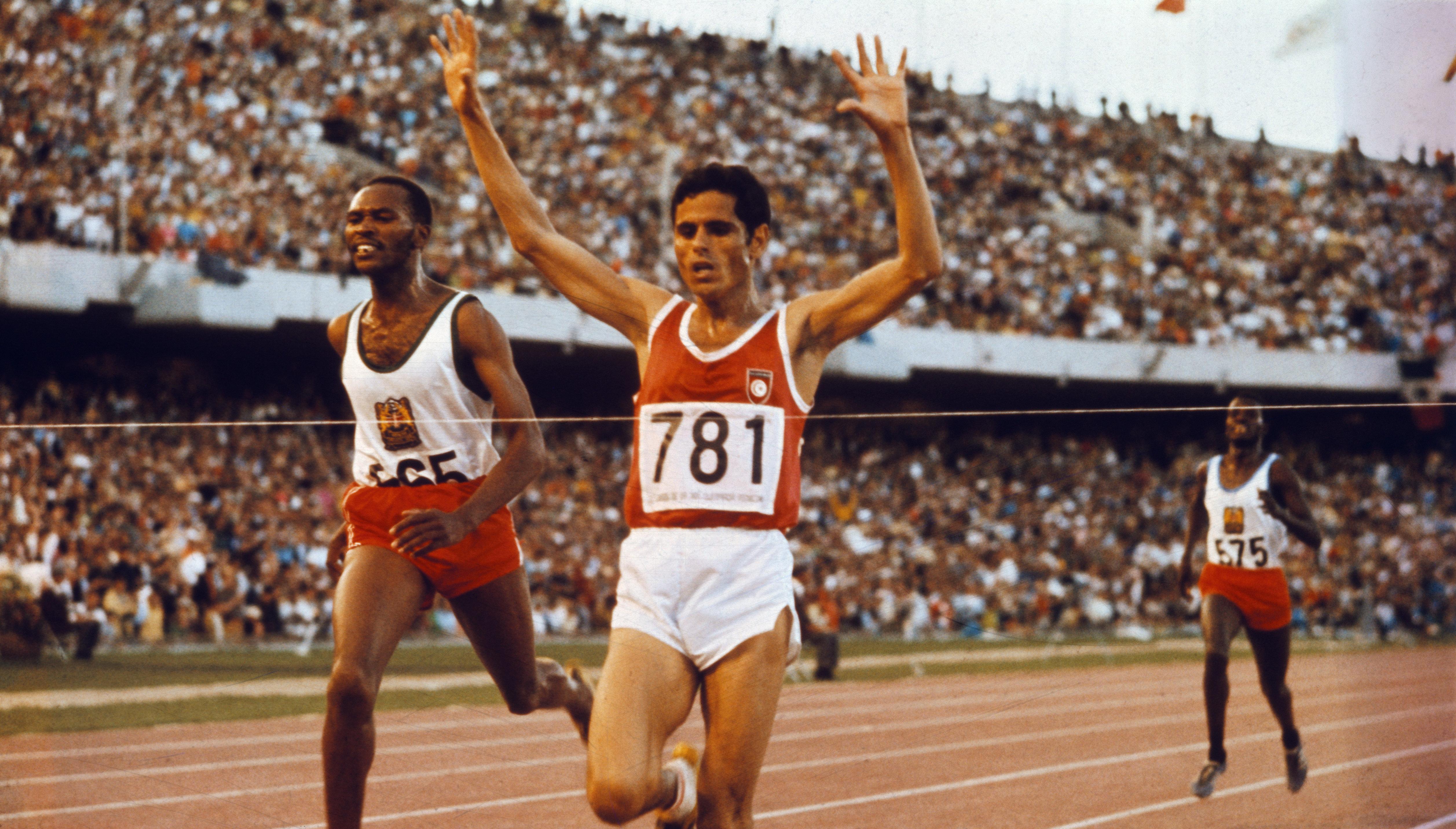 C'était il y a 50 ans: Mohamed Gammoudi ramenait la première médaille d'or olympique à la