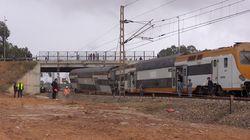 Déraillement d'un train à Bouknadel: Une voie a été dégagée entre Salé et
