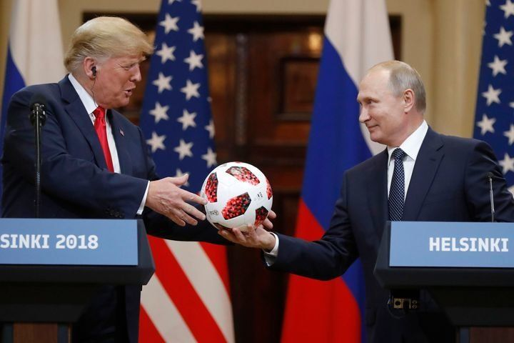 "<img alt=""""/><p>Surprise! That very innocent soccer ball Russian President Vladimir Putin gifted Donald Trump during their Helsinki summit last week (yes, that was just last week, folks) may not be so innocent. </p> <p><a rel=""nofollow"" href=""https://www.bloomberg.com/news/articles/2018-07-25/putin-soccer-ball-for-trump-had-transmitter-chip-logo-indicates"">Bloomberg is reporting</a> that the soccer ball may contain <a rel=""nofollow"" href=""https://www.fifa.com/worldcup/news/adidas-football-reveals-official-match-ball-for-the-knockout-stage-of-the-2018-f"">an embedded NFC</a> (Near Field Communication) chip. </p> <p>The ball, which <a rel=""nofollow"" href=""https://www.adidas.com/us/b/soccer/telstar_18/faq.html"">is produced by Adidas</a>, is typically embedded with a chip that allows it to communicate with nearby devices, such as phones and tablets. Once connected with a device, the chip allows fans to access ""exclusive information about the product, Adidas football content, special competitions and challenges, etc,"" according to Adidas. </p> <div><p>SEE ALSO: <a rel=""nofollow"" href=""https://mashable.com/2018/07/17/trump-putin-summit-late-night-shows/?utm_campaign=Mash-BD-Synd-Yahoo-Watercooler-Full&utm_cid=Mash-BD-Synd-Yahoo-Watercooler-Full"">Trump-Putin press conference gets a roasting from late show hosts</a></p></div> <p><img alt=""Mandatory Credit: Photo by Alexander Zemlianichenko/AP/REX/Shutterstock (9763104b) Donald Trump, Vladimir Putin. Russian President Vladimir Putin, right, gives a soccer ball to U.S. President Donald Trump, left, during a press conference after their meeting at the Presidential Palace in Helsinki, Finland Trump Putin Summit, Helsinki, Finland - 16 Jul 2018""></p> <div><p>Image:  Alexander Zemlianichenko/AP/REX/Shutterstock</p></div><p>While it's unclear if this exact ball contained the chip or was tampered with by the Russians in any way, photos from the event clearly show the chip's logo, which is where it is placed inside the ball.</p> <p><img></p> <div><p>Image:  <a rel=""nofollow"" href=""https://www.adidas.com/us/b/soccer/telstar_18/faq.html"">screenshot/adidas</a></p></div><p>Adidas declined to comment to Bloomberg on whether or not the NFC chip could be used by the Russians to hack nearby devices, such as Trump's <a rel=""nofollow"" href=""https://www.politico.com/story/2018/05/21/trump-phone-security-risk-hackers-601903"">reportedly risky phones</a>. The White House also declined to say if the ball was modified, or where the gift would be kept. The ball did undergo a routine security screening by the U.S. Secret Service, <a rel=""nofollow"" href=""https://apnews.com/57afdb64ac324cb68b2f06a8ad1ae687"">the AP reports</a>.  </p> <p>While Adidas notes on its website that the chip is ""passive,"" it's probably just not worth the risk. It was, after all, given to the president by the leader of Russia, a country who is no stranger to all sorts of hacking — including the 2016 U.S. election. </p> <p>However, as Bloomberg notes and <a rel=""nofollow"" href=""https://www.forbes.com/sites/thomasbrewster/2015/04/27/implant-android-attack/#67012c471d23"">Forbes reported</a> in 2015, ""an engineer used an NFC chip to send a nearby Android phone a request to open a link that — if the user agreed to open it — installed a malicious file that took over the phone.""</p> <p>Sorry, but I don't trust anyone in government to be tech savvy enough to not fall for such an attack. Hell, they're falling left and right for <a rel=""nofollow"" href=""https://mashable.com/2018/07/23/sacha-baron-cohen-who-is-america-jason-spencer-clip/?utm_campaign=Mash-BD-Synd-Yahoo-Watercooler-Full&utm_cid=Mash-BD-Synd-Yahoo-Watercooler-Full"">pranks from Sacha Baron Cohen</a>. </p> <div> <h2><a rel=""nofollow"" href=""https://mashable.com/2018/07/25/glasses-cure-motion-sickness/?utm_campaign=Mash-BD-Synd-Yahoo-Watercooler-Full&utm_cid=Mash-BD-Synd-Yahoo-Watercooler-Full"">WATCH: These glasses are designed to stop motion sickness</a></h2> <div> <p><img alt=""Https%3a%2f%2fblueprint api production.s3.amazonaws.com%2fuploads%2fvideo uploaders%2fdistribution thumb%2fimage%2f86282%2fa53aa418 93f4 4ce6 a02d 8c735e0cf3fb""></p>   </div> </div>"