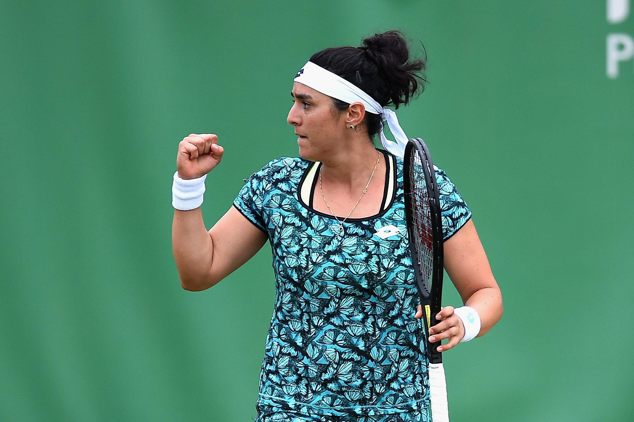 Ons Jabeur élimine la numéro 8 mondial au tournoi WTA de