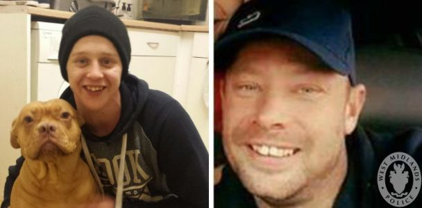 Left to right: Murder victims Daniel Shaw and Johnny