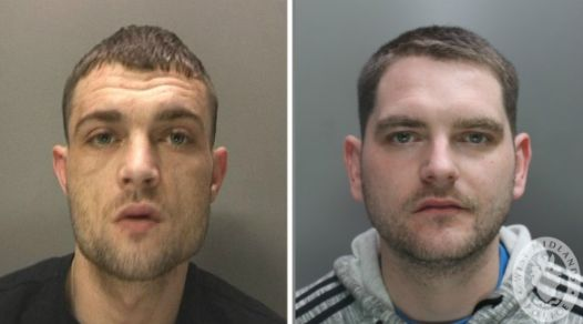 Ryan Hobday and Ben Whyley are wanted in connection with the murders but detectives believe they may...