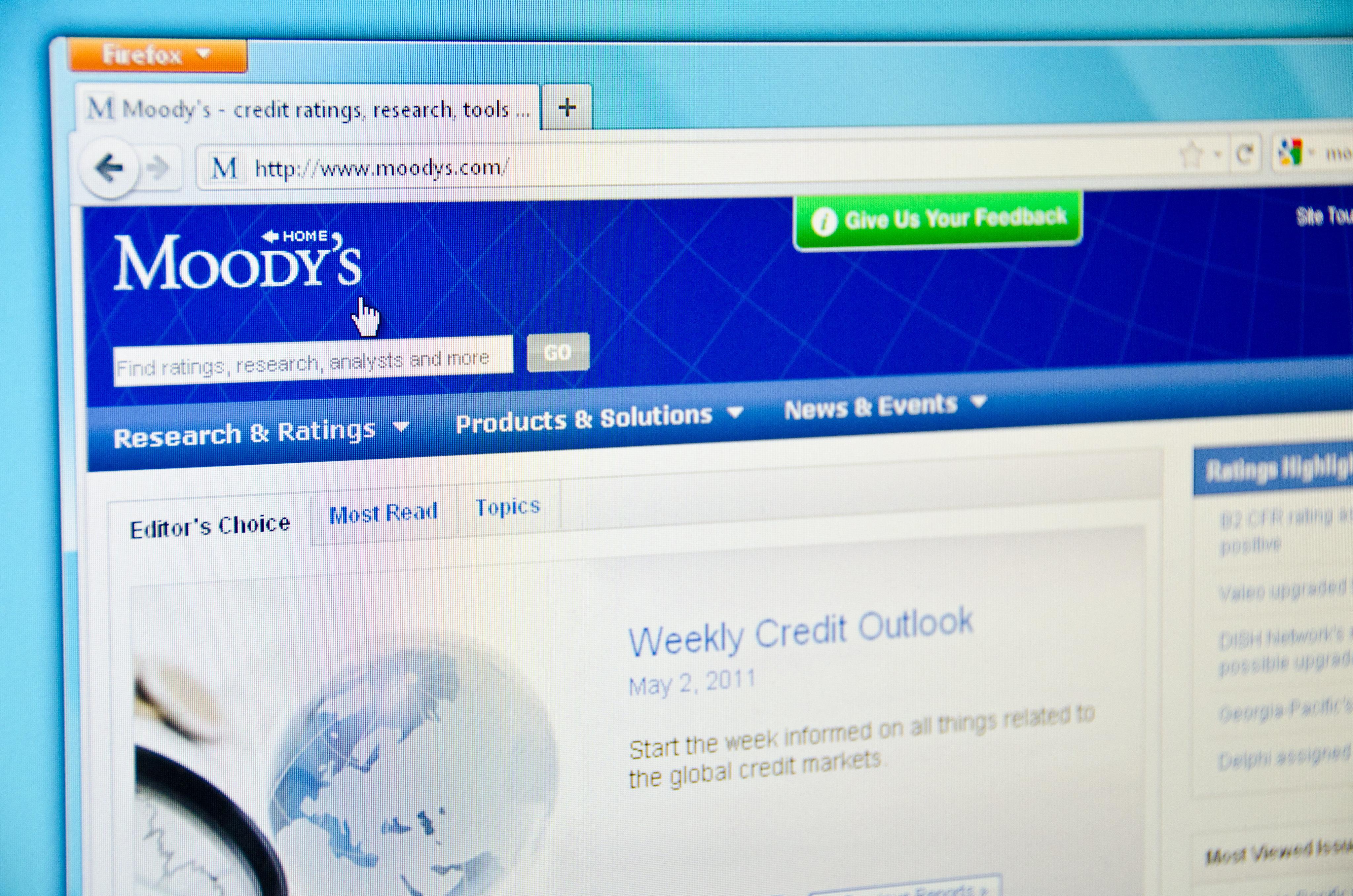 Tunisie: Moody's abaisse sa perspective à négative, note inchangée à B2.