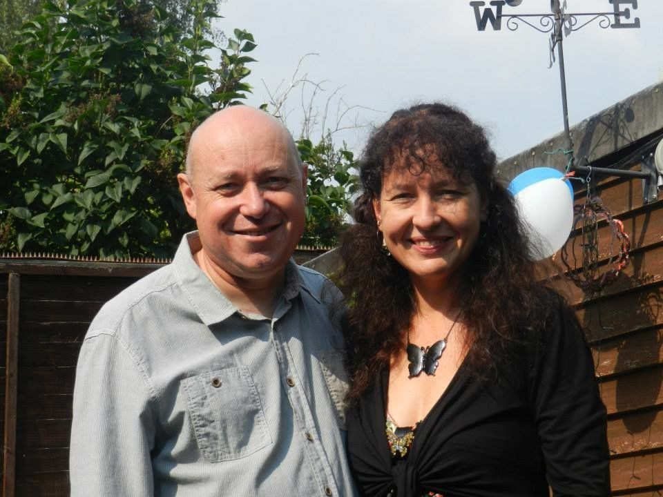 Army veteran Duncan Hodgkins and his wife