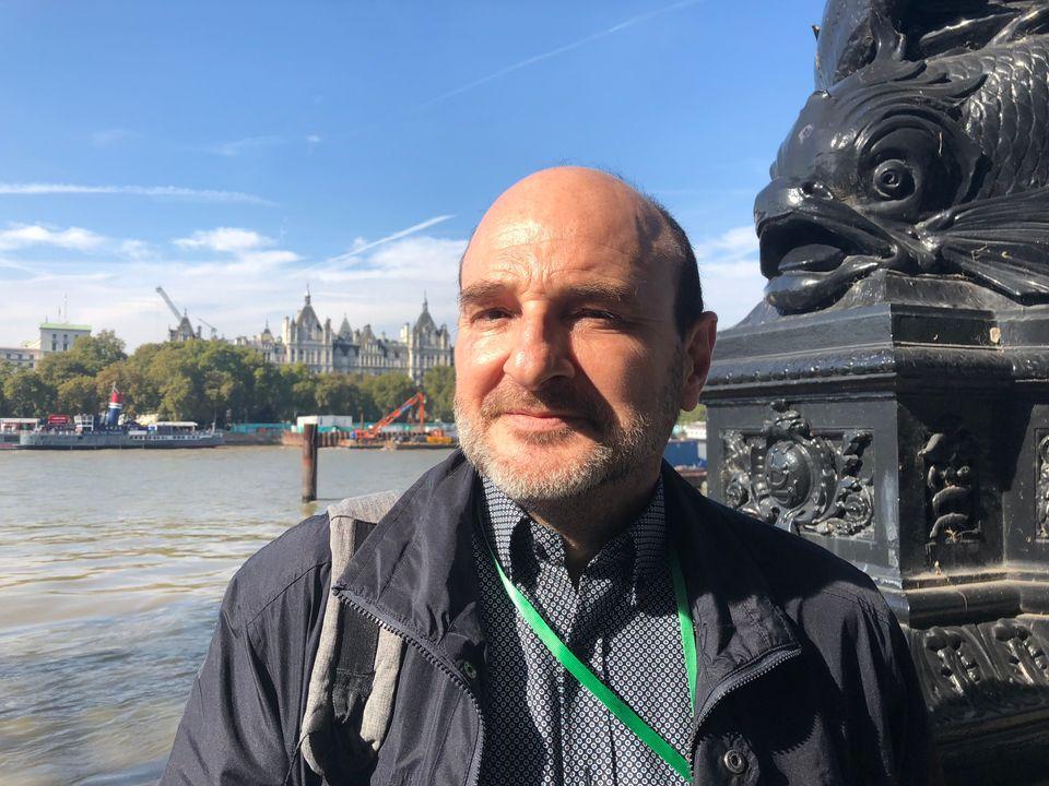 NHS translator Peio Astigarraga is considering returning to Spain after Britain leaves the