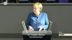 Merkel hält EU-Rede – und stichelt mit einem Nebensatz gegen die