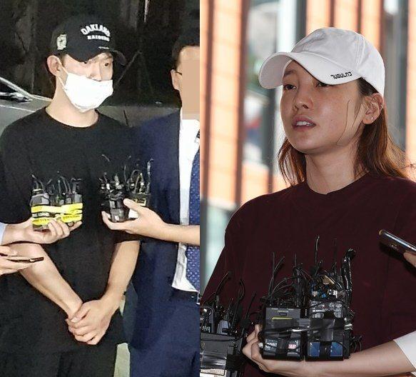 '쌍방폭행' 구하라와 '동영상 유포 협박' 최종범이 경찰의 비공개 대질 조사를