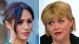 Meghan Markle and Samantha Grant