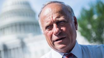 Rep. Steve King (R-Iowa) is prematurely celebrating a possible end to Roe v.