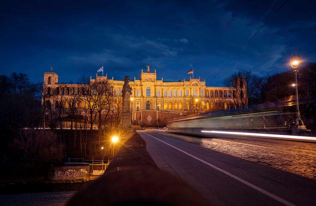 Das altehrwürdige Maximilianeum – der Sitz des Bayerischen