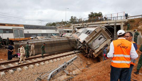 Déraillement à Bouknadel: L'ONCF avait été alerté de secousses par les passagers du train