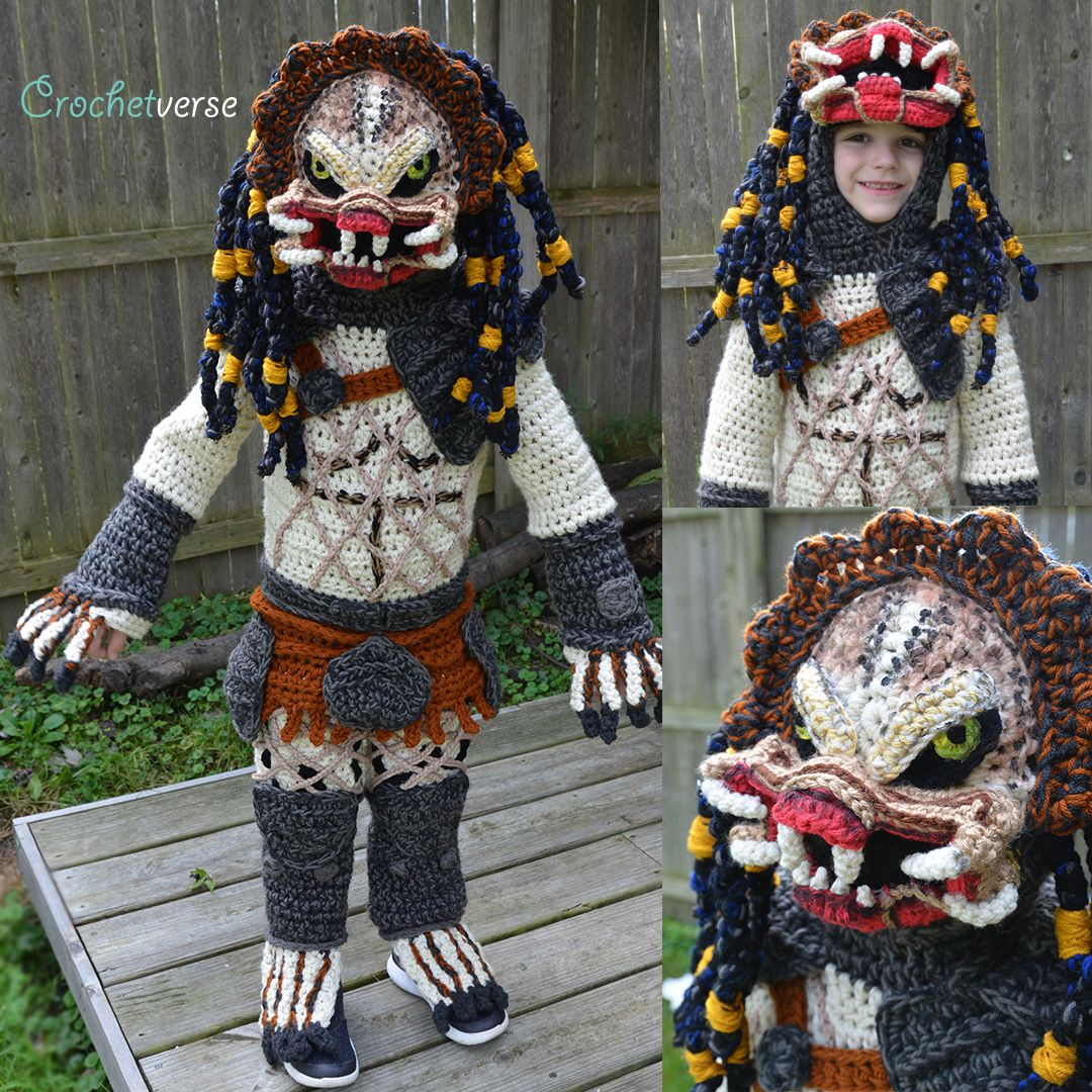 Mom Crochets Ridiculously Cool Halloween Costumes For Her