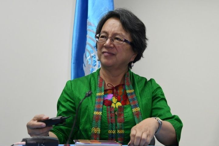 Vicky Tauli-Corpuz, the special adviser to the U.N. on indigenous rights, was among 600 people accused by the Philippine gove