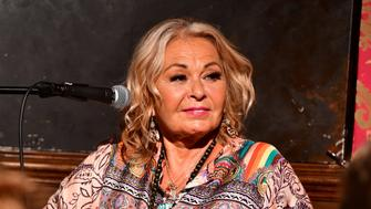 NEW YORK, NY - JULY 26:  Roseanne Barr attends live podcast at Stand Up NY on July 26, 2018 in New York City.  (Photo by James Devaney/Getty Images)