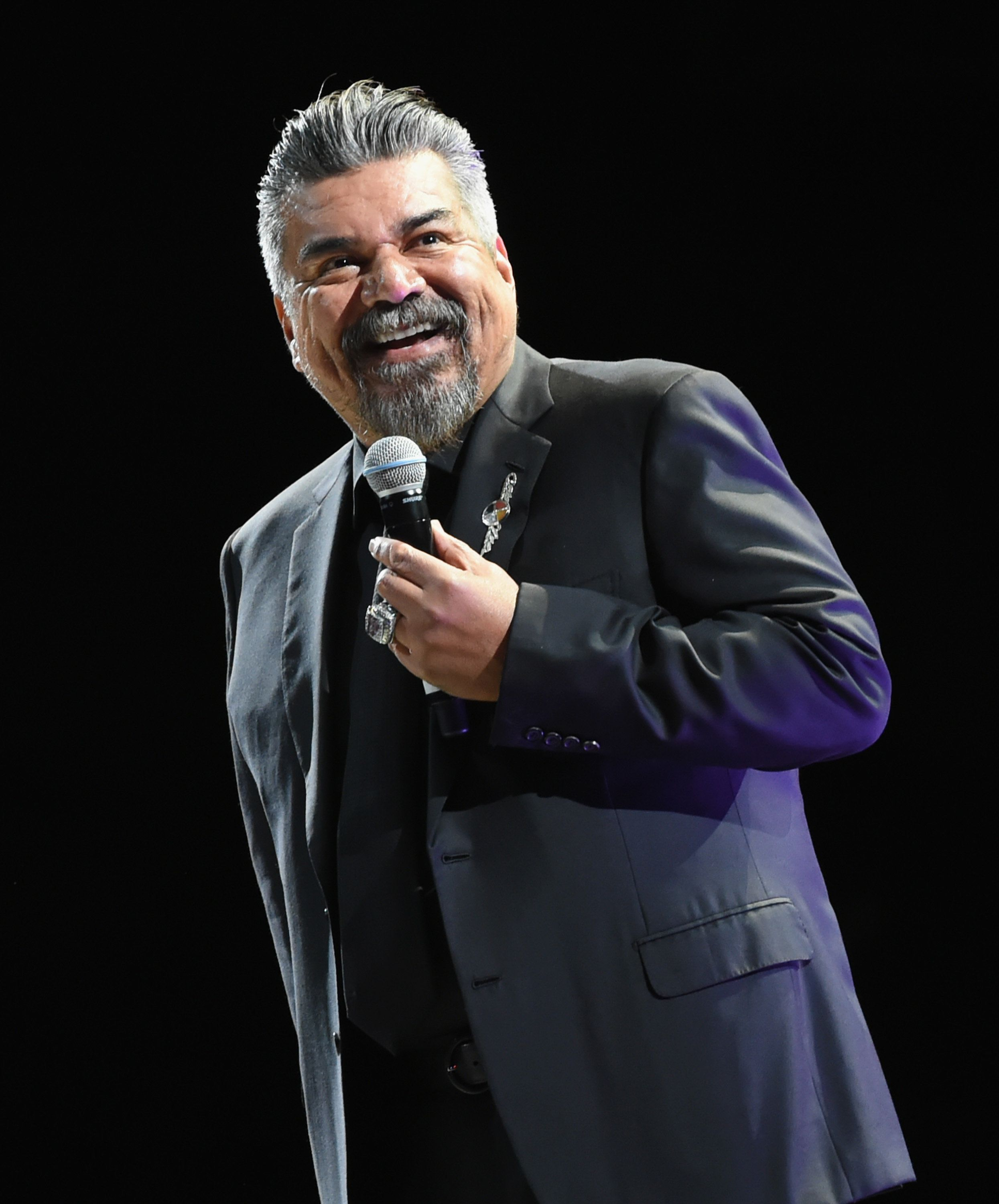 NASHVILLE, TN - APRIL 21:  The Comedy Get Down Tour featuring Comedian George Lopez performs during Nashville Comedy Festival at Bridgestone Arena on April 21, 2018 at The Ryman Auditorium in Nashville, Tennessee.  (Photo by Rick Diamond/Getty Images for Outback Concerts)