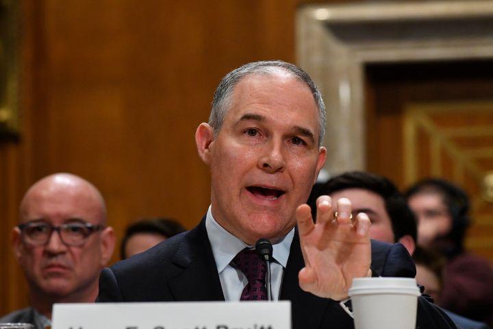 Scott Pruitt resigned as EPA administratoron July 5 amid a snowballing series of scandals.