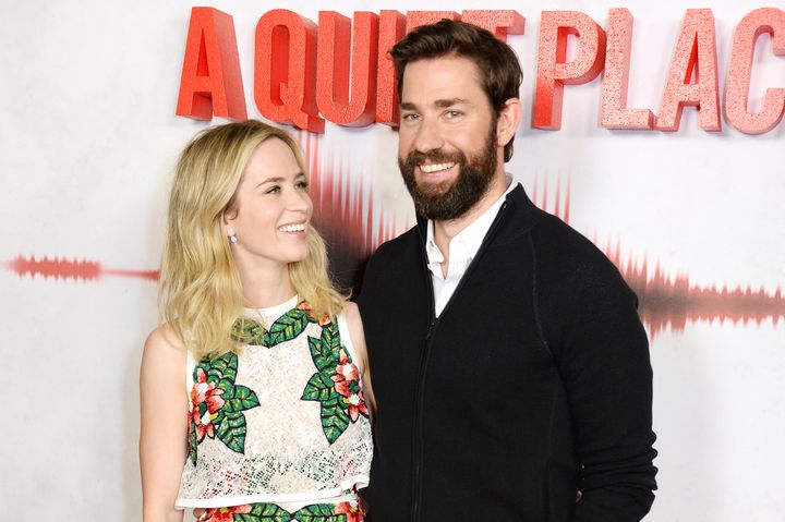 """Krasinski directed his wife in """"A Quiet Place."""""""