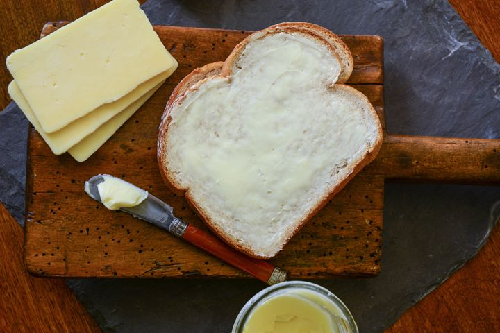 Look at that beautiful spread of butter.