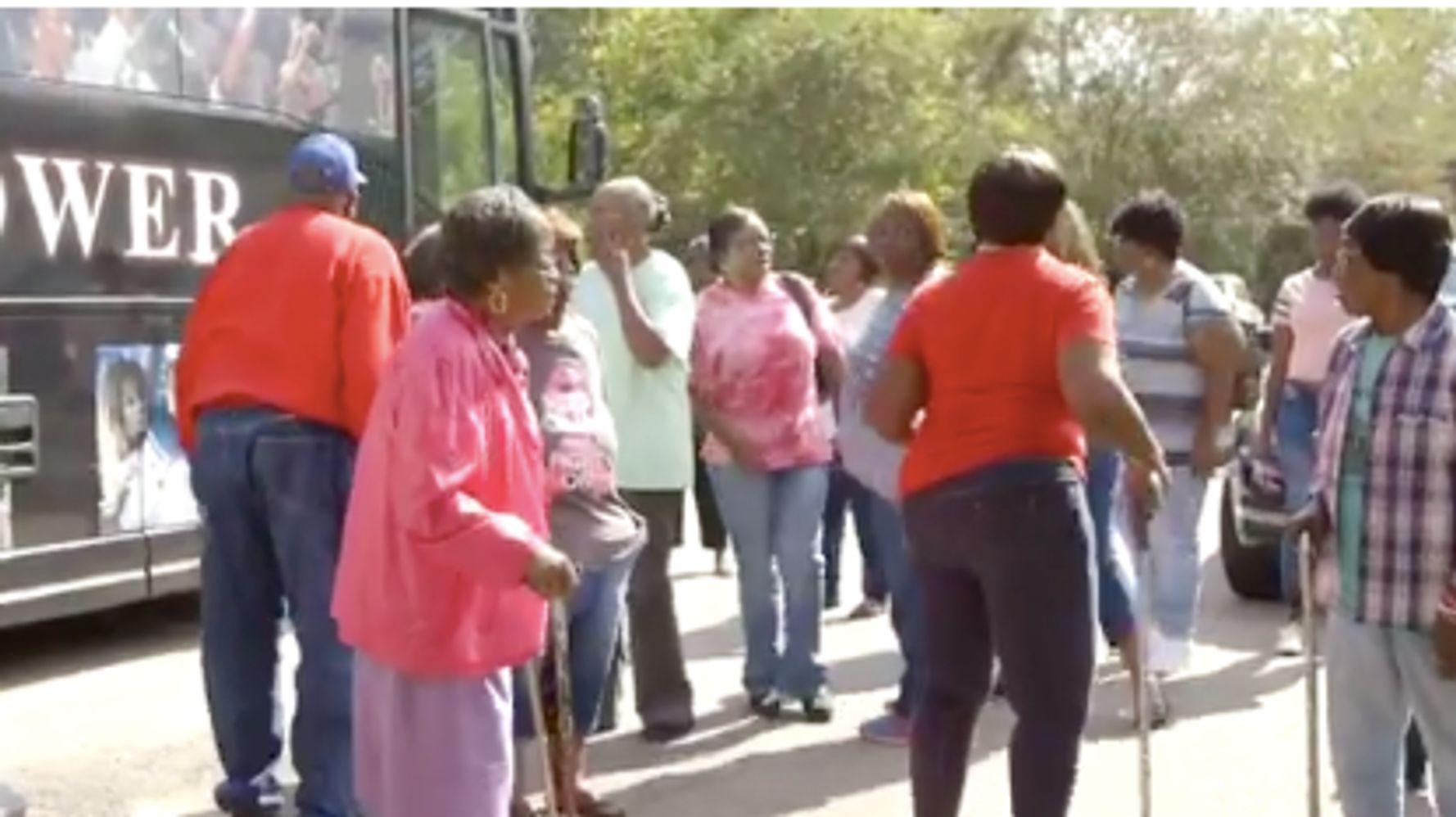 Georgia County Orders Elderly Black Voters Off Bus Taking