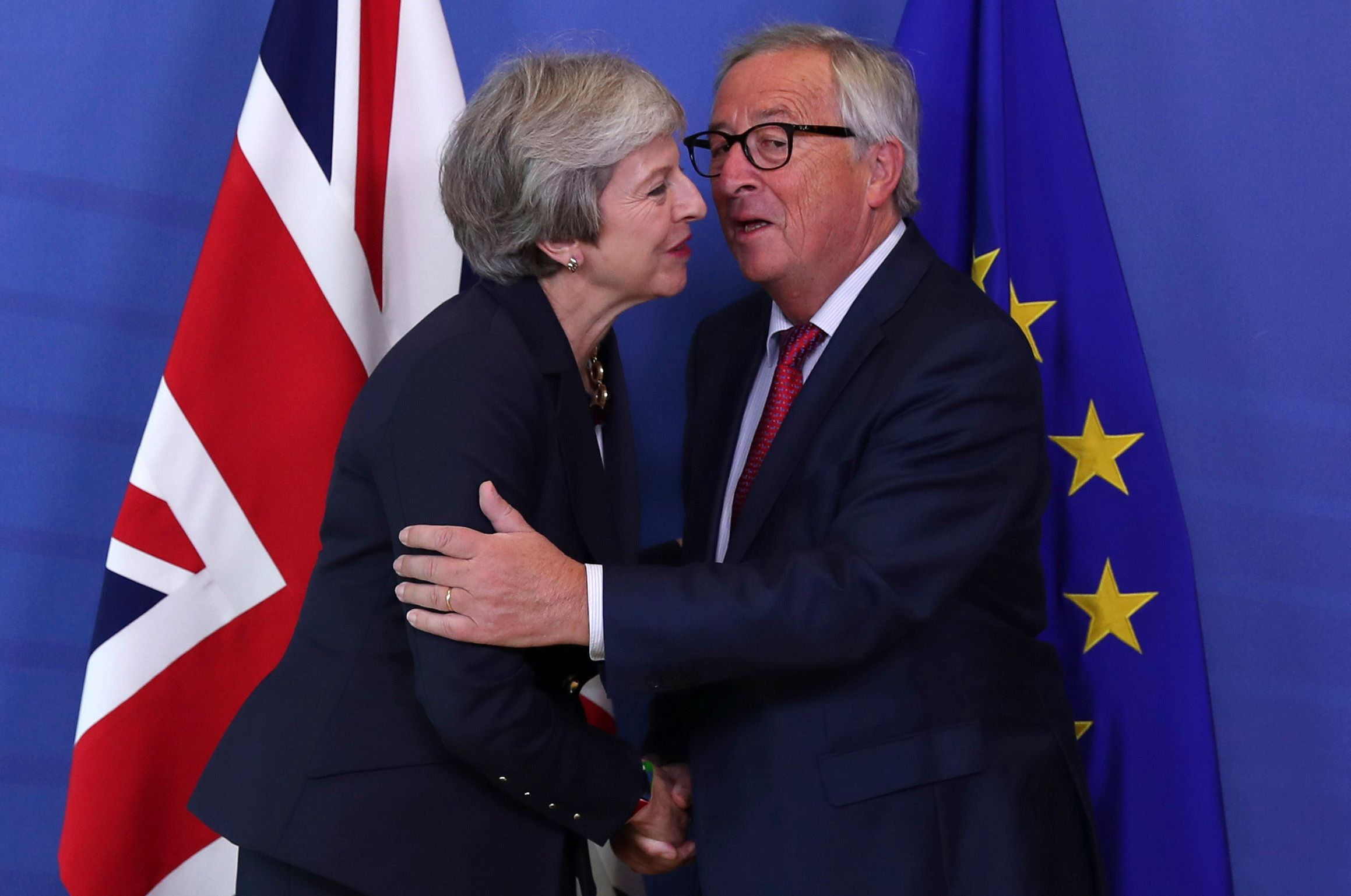 EU Boss Juncker Backs May's Plan to Delay Brexit Even Further