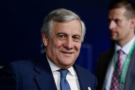 European Parliament President Antonia Tajani
