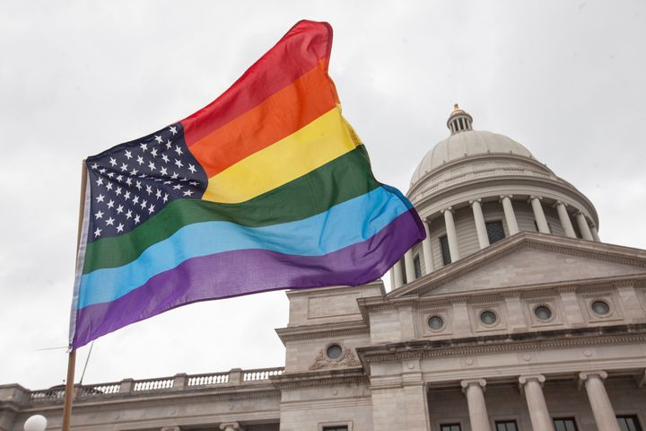 "Since 2010, Arkansas has been allowing residents to ""change their gender as requested, no questions asked,"" accordi"
