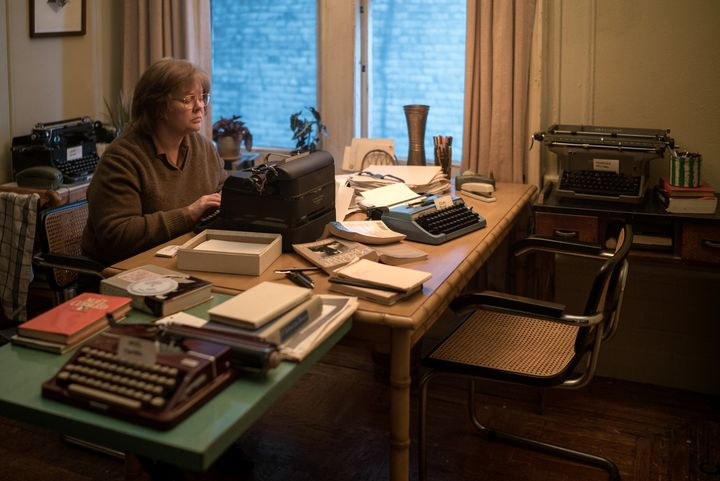 "Melissa McCarthy embodies author and felon Lee Israel in the film, ""Can You Ever Forgive Me?"""