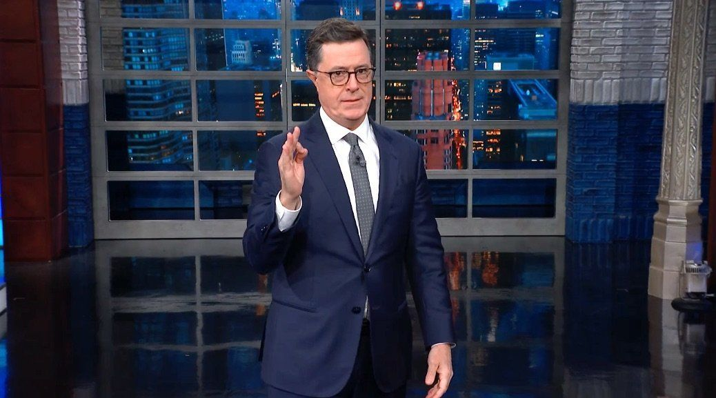 Colbert Exposes The Ridiculous Truth Behind Trump's Latest 'Science' Boast