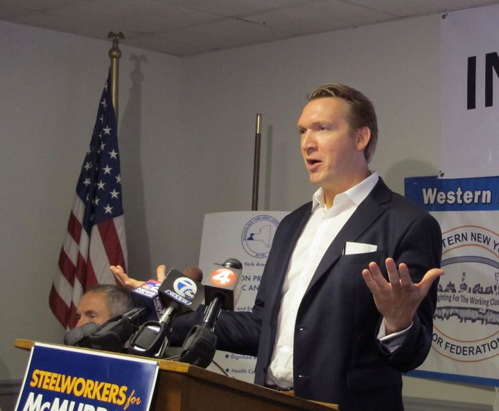 New York state congressional candidate Nate McMurray is getting national Democratic Party help in his quest to unseat indicte