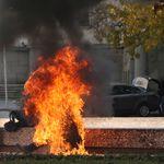 Un homme s'immole par le feu à