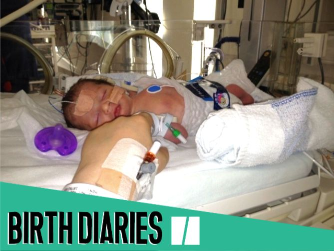 'I Suffered A Placental Abruption That Meant I Nearly Lost My